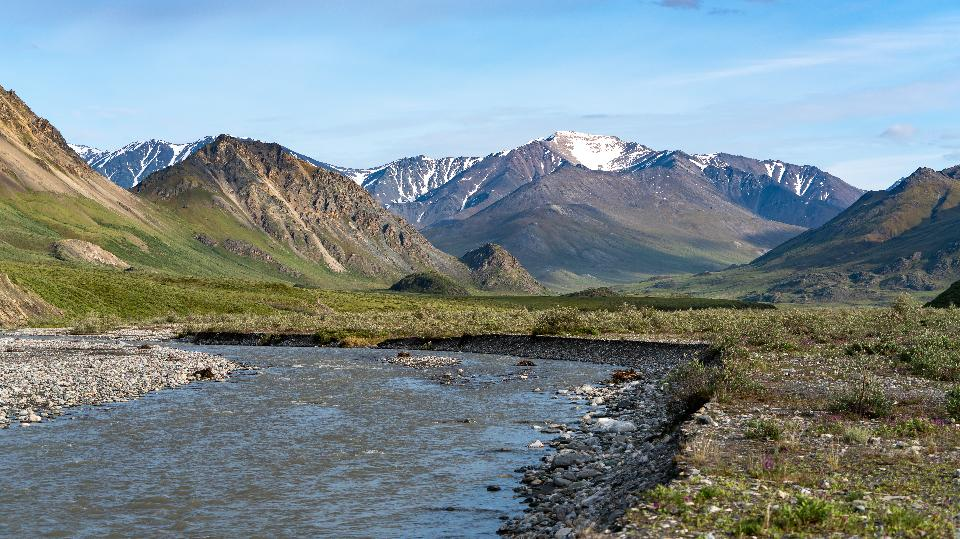 Hulahula River in Arctic National Wildlife Refuge