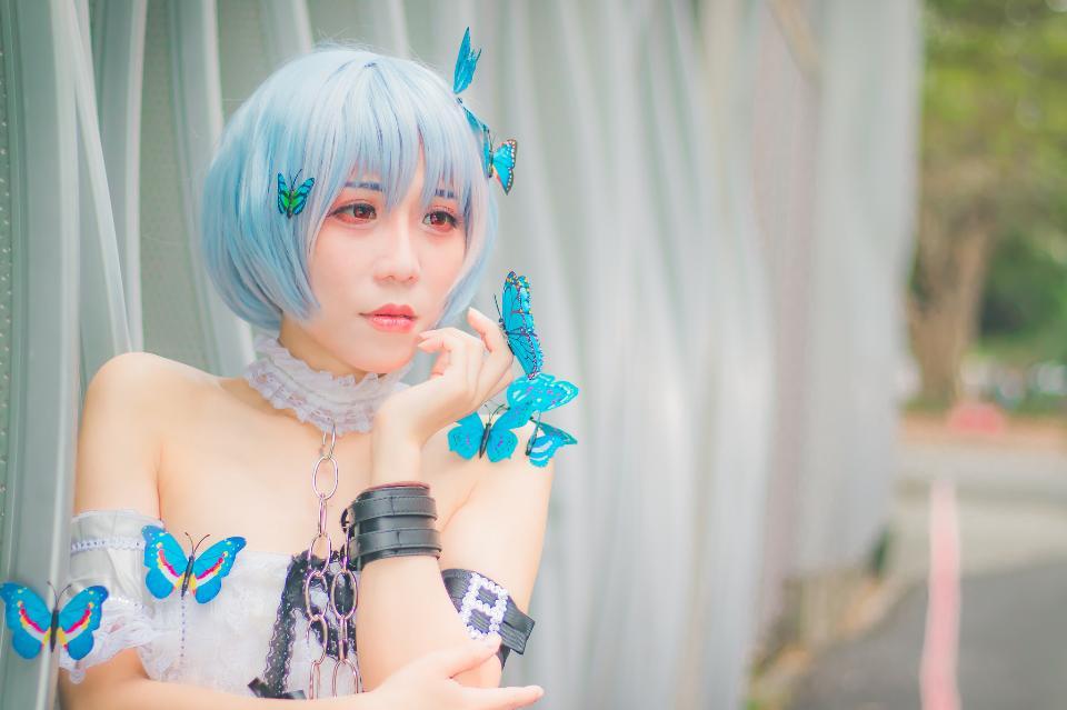 Portrait of girl cosplay