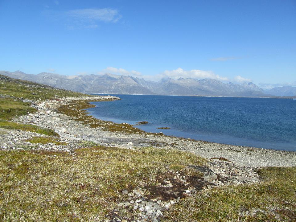 Beach Tasermiut Fjord