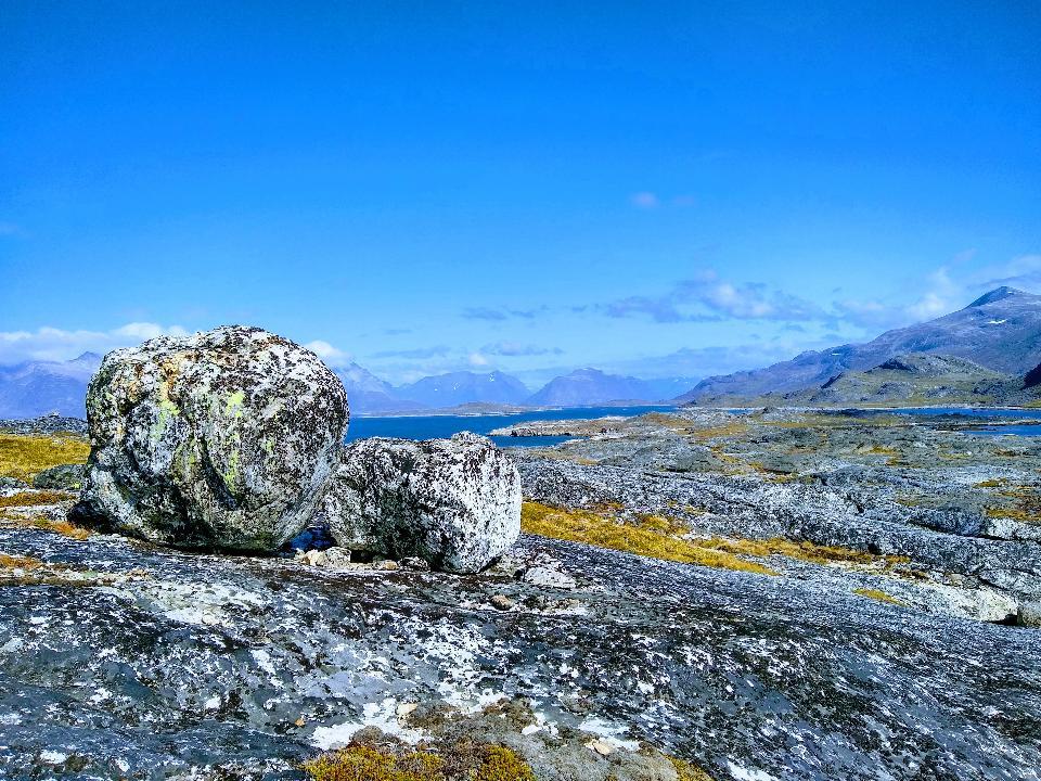 rocce casuali Tasermiut