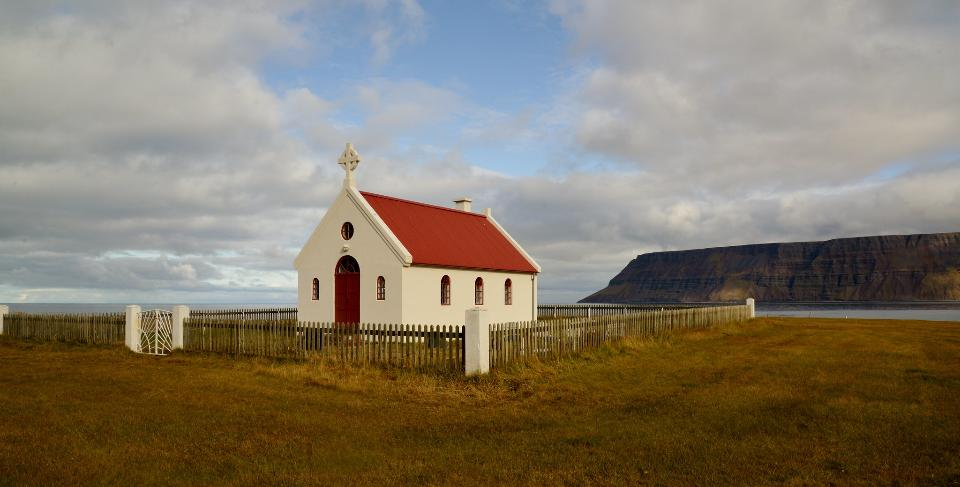 Little Church, Westfjords, Iceland