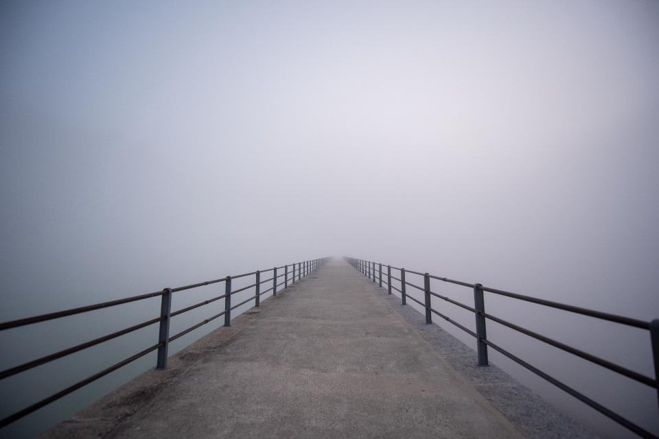 Road to Nowwhere Oberaarsee