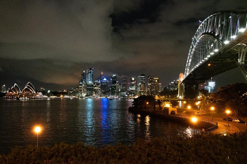 悉尼歌劇院和澳大利亞海港大橋