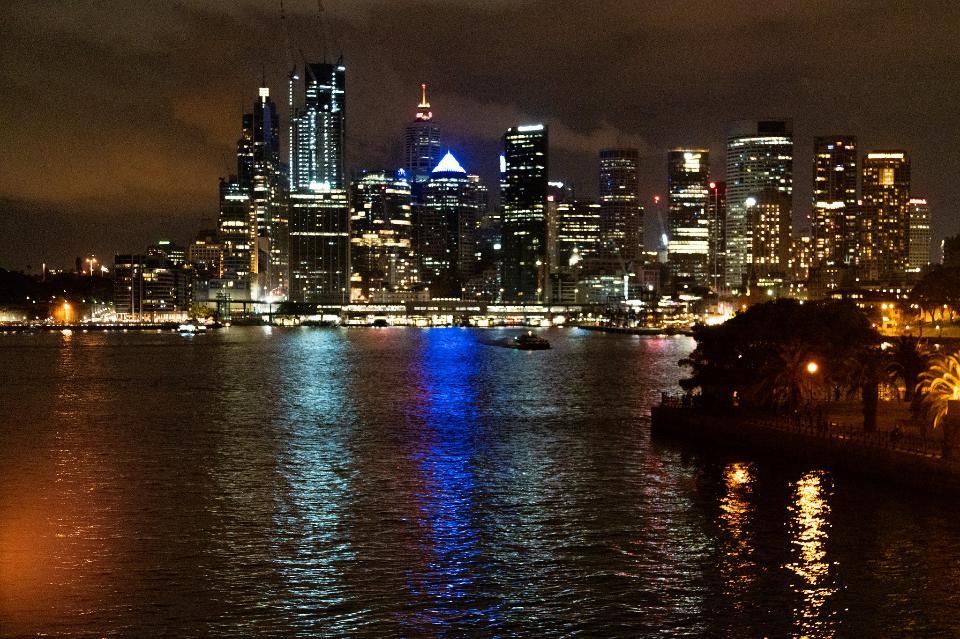 Skyline in Sydney, Australia