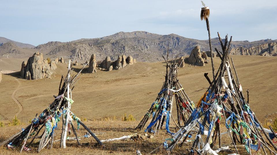 Terelj National Park at Ulaanbaatar, Mongolia