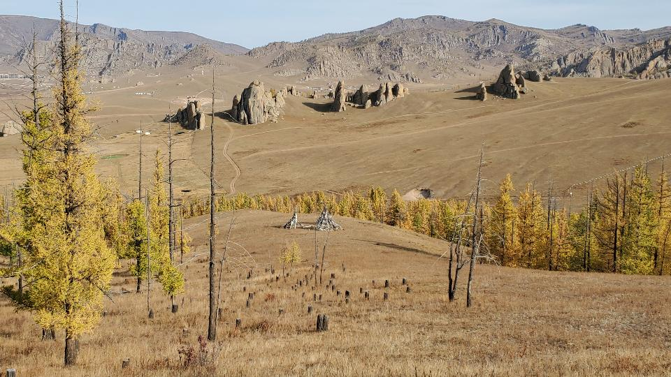 Terelj National Park at Ulaanbaatar, Mongolia