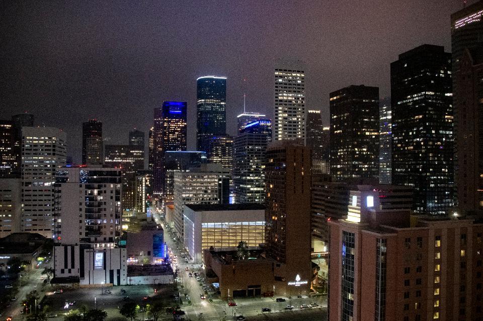 Cityscape in Houston, Texas