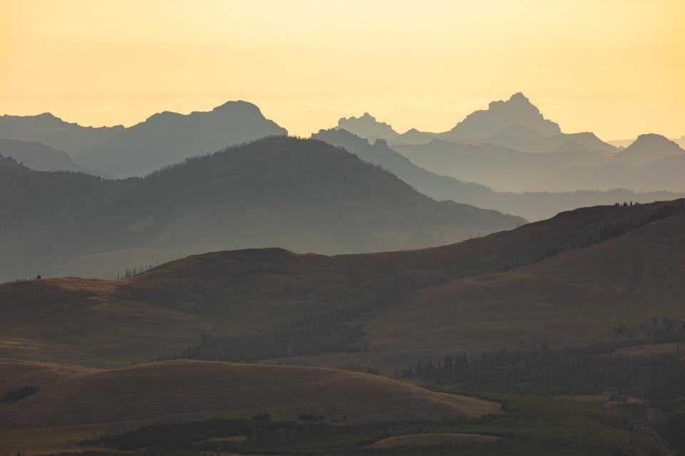 Absaroaka Range sunrise