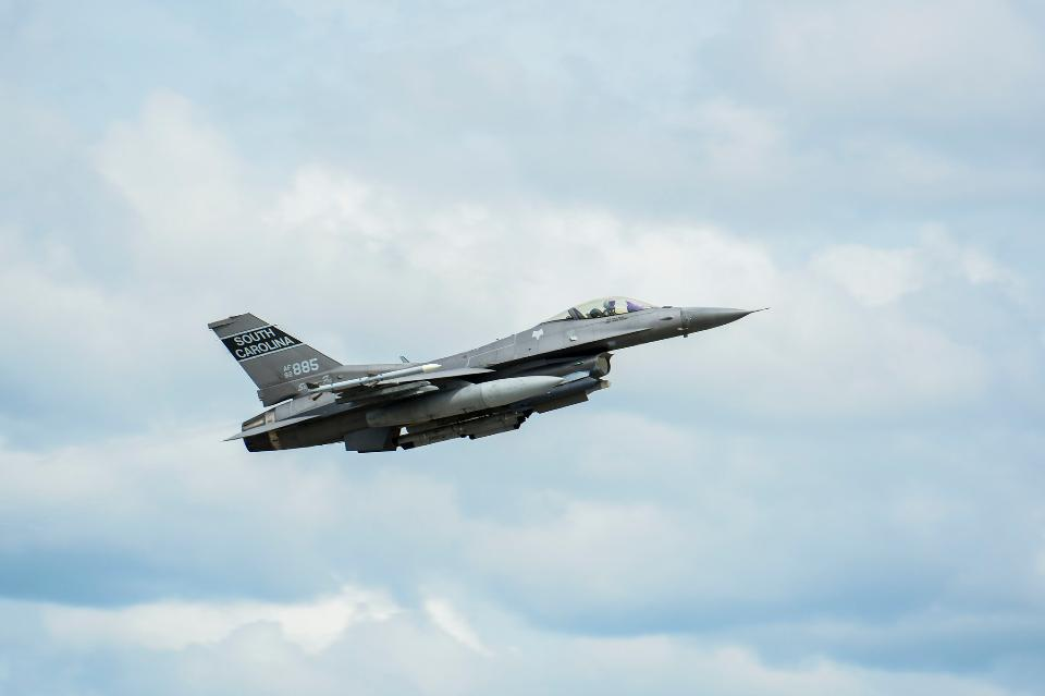 U.S. Air Force fighter F-16s