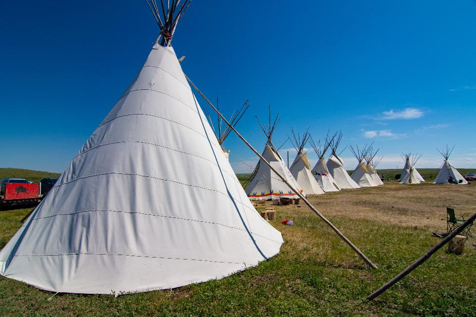 Teepees tent