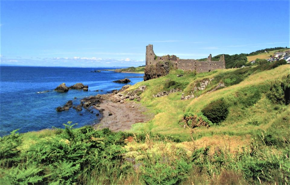 Dunure Castle Scotland