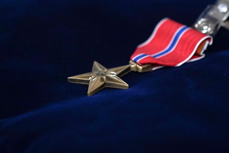 ブロンズスターメダル
