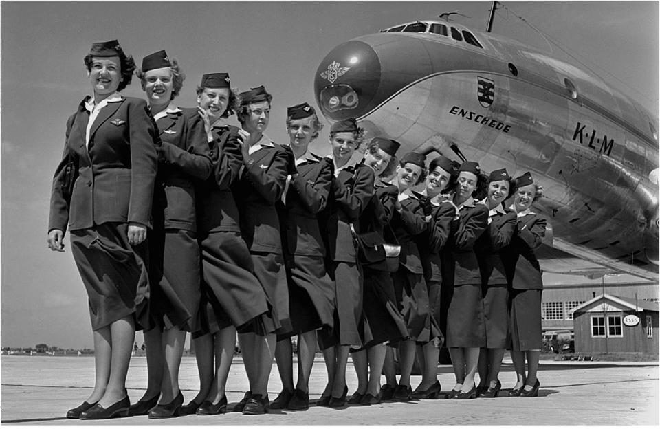 stewardessen KLM Crew