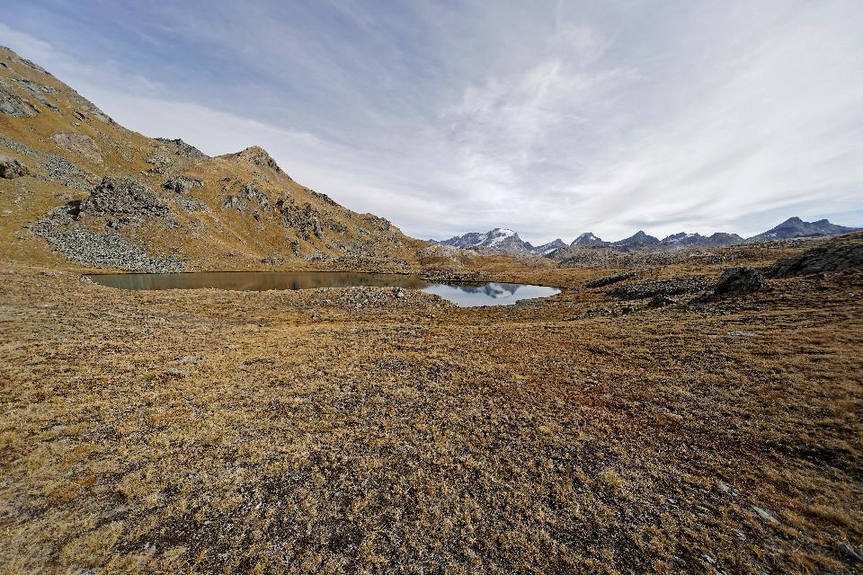 Colle del Nivolet mountain pass, Graian Alps