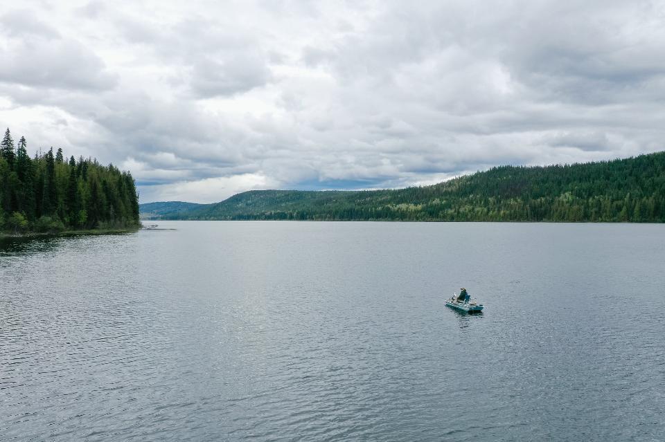 Polley Lake fishing