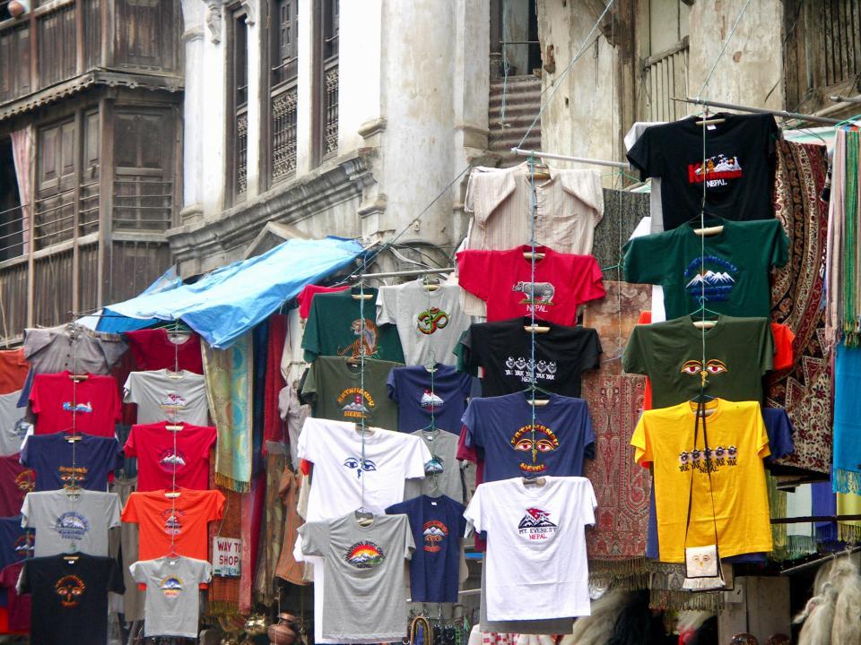 Katmandou Market