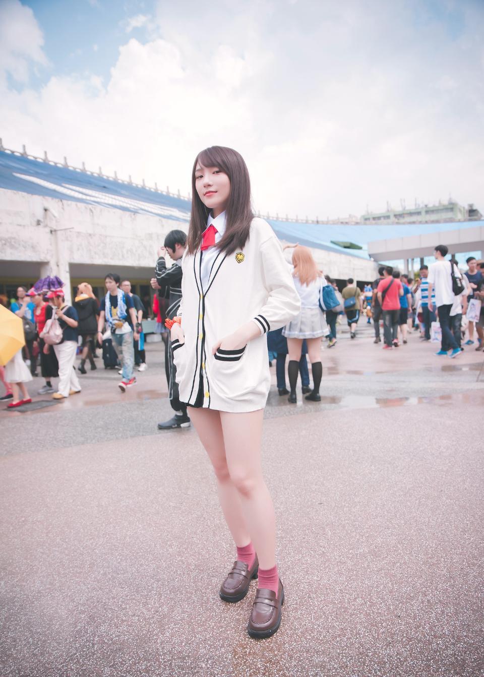 动漫角色扮演服装可爱的日本女孩