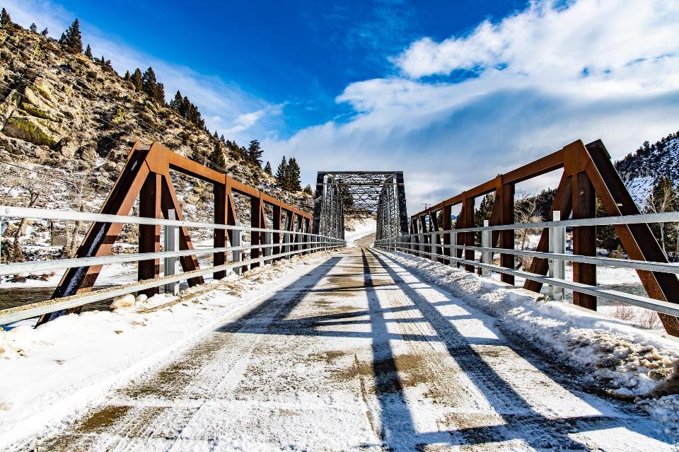 The Pumphouse Road Bridge