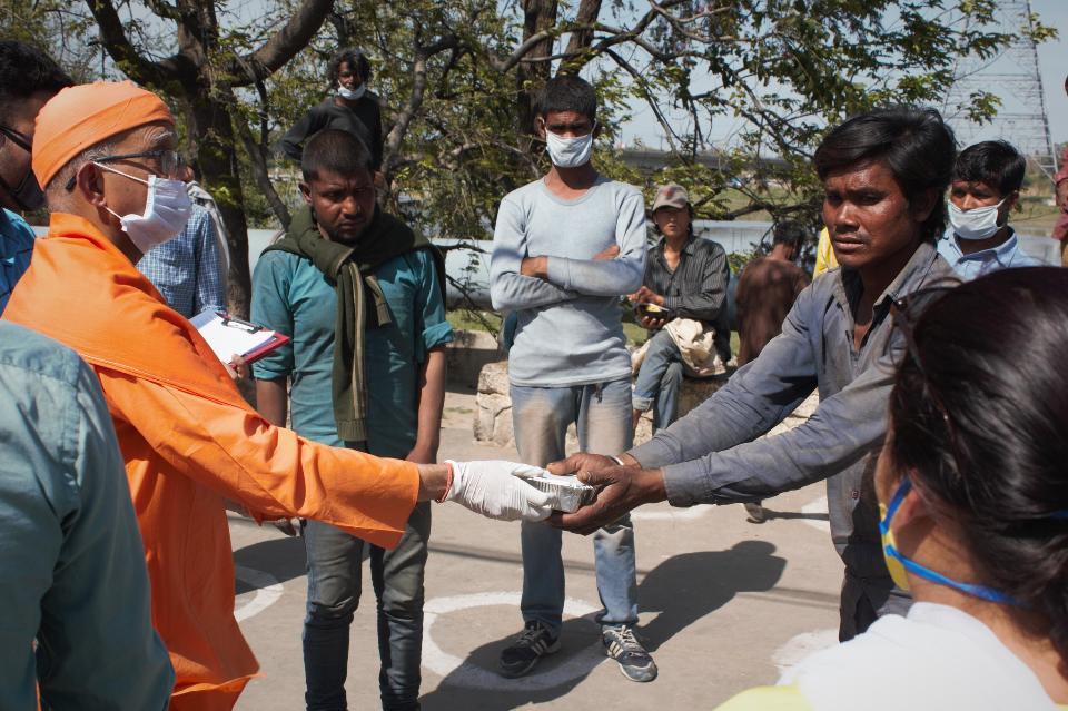 COVID-19 Relief Services in Delhi India