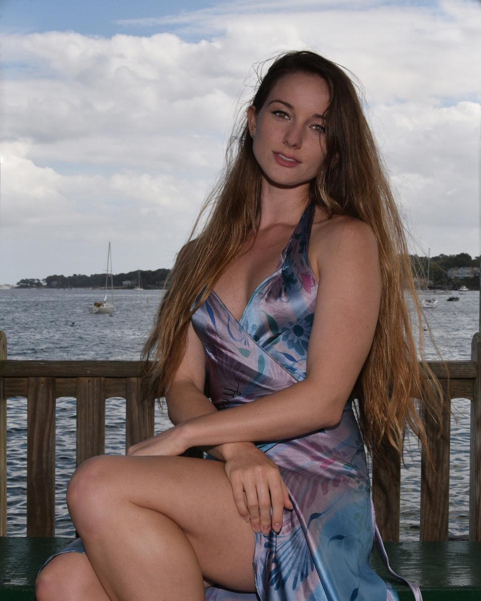 Model portrait. beautiful Caucasian woman