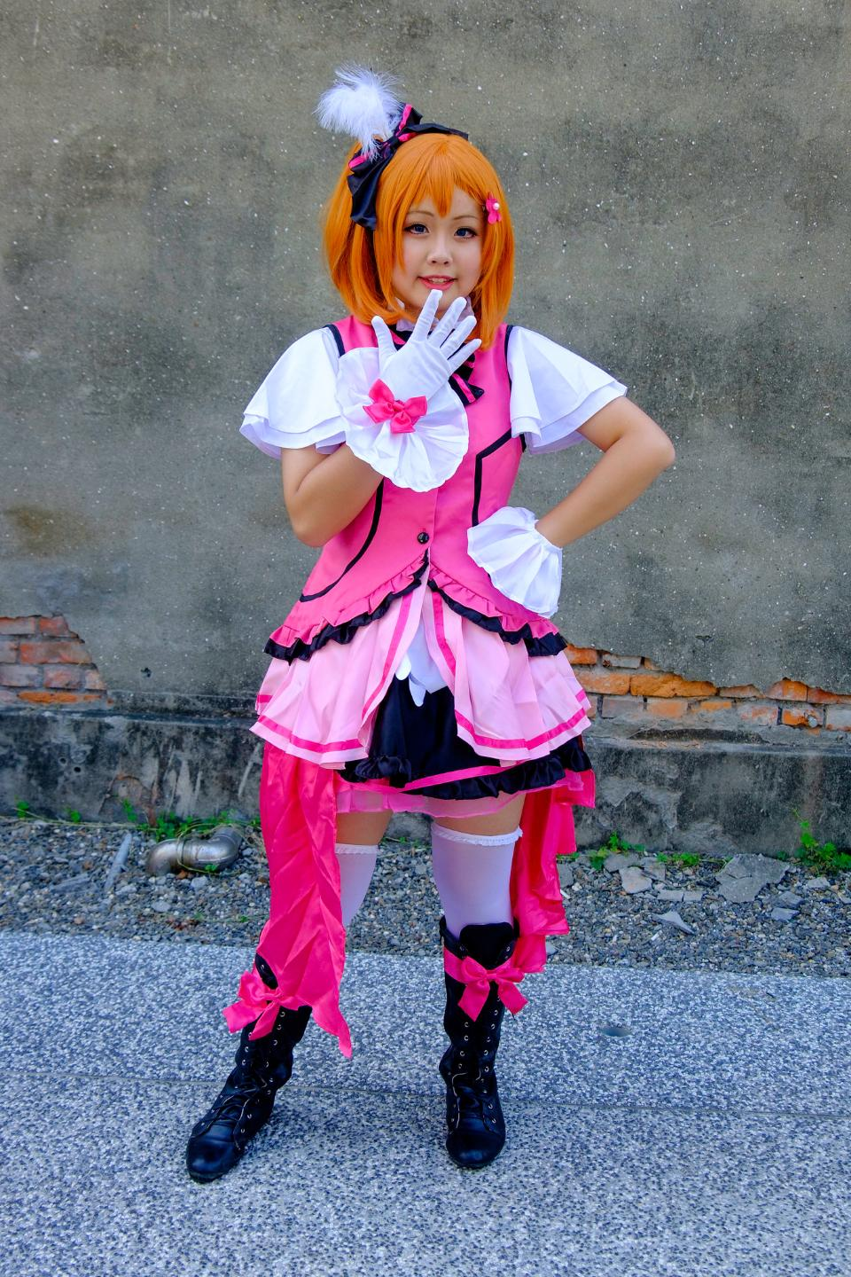 Anime cosplay Costume cute Asian Girl