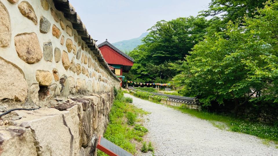 UNESCO World Heritage Site Daeheungsa in Haenam County, Korea