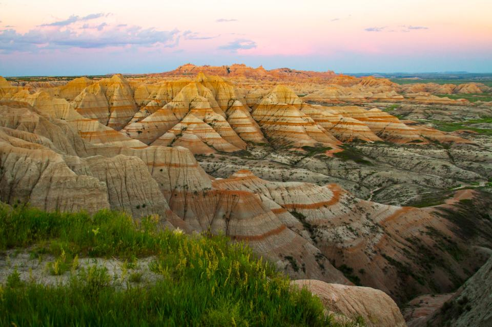 Badlands National Park в Южной Дакоте