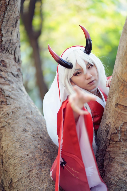 Anime cosplay Costume cute Asian Girl
