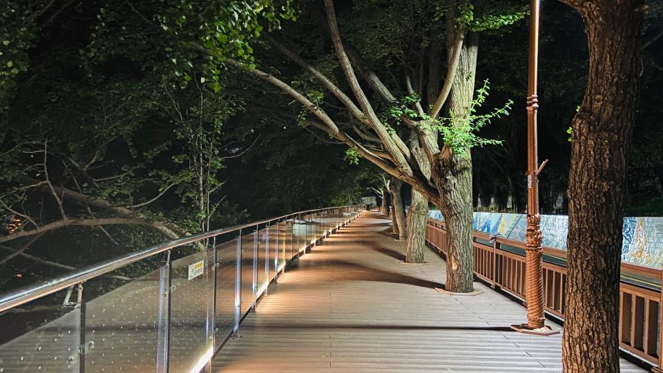 Yongdusan Park in Busan, South Korea