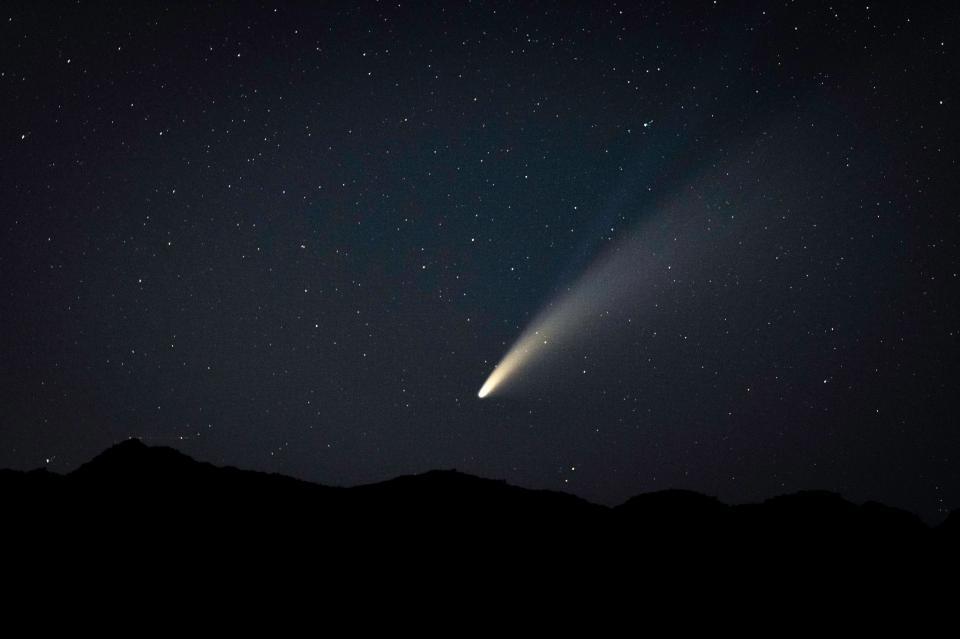 Comet NEOWISE over Queen Valley