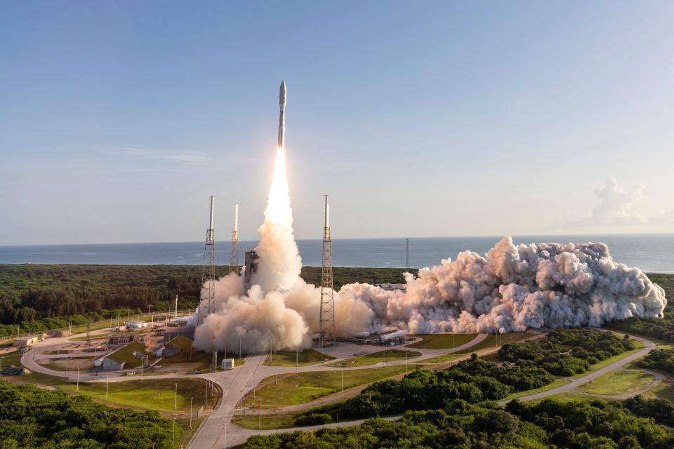 Mars 2020 Perseverance Launch Panorama