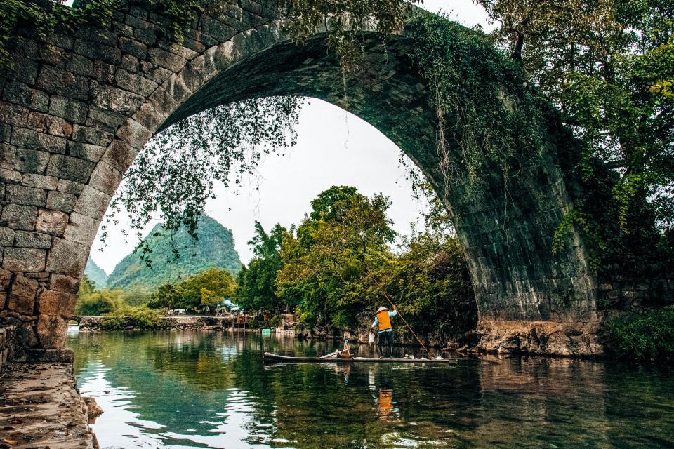 Le pêcheur vietnam