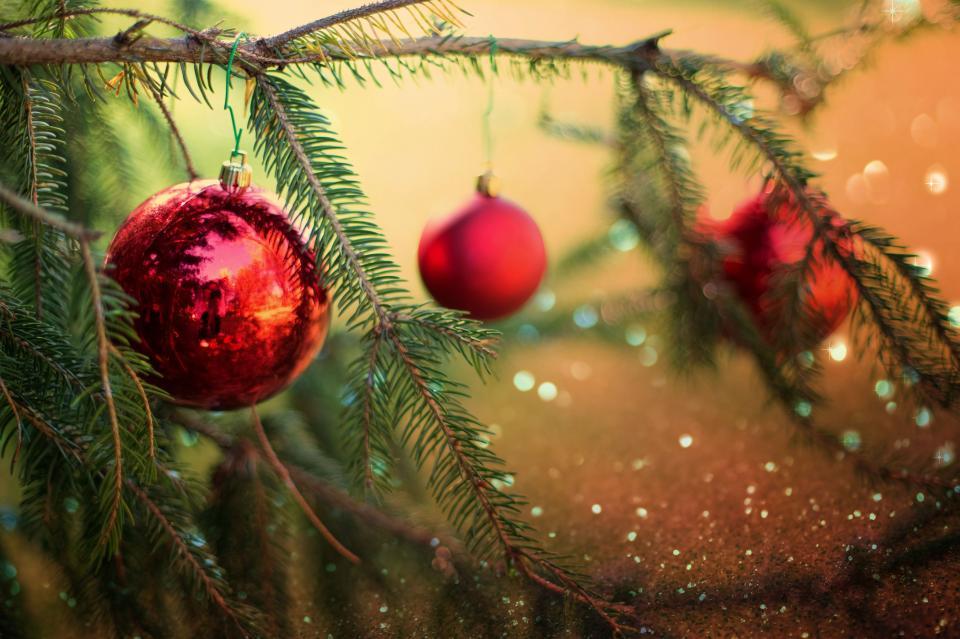 クリスマス安物の宝石